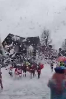 Onverwachts een witte carnaval in Lieshout
