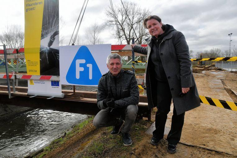 Onder meer in Zemst werd fors geïnvesteerd voor de fietssnelweg F1.