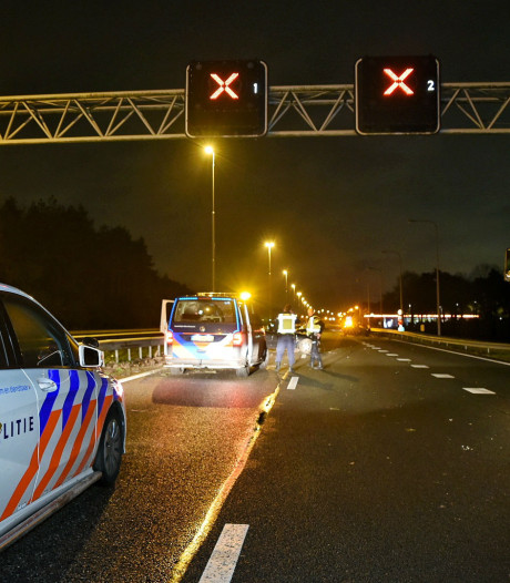 Ongeluk met meerdere voertuigen op A58, weg weer vrij