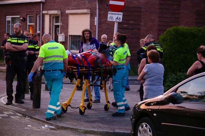 Vrouw gewond naar ziekenhuis Tilburg