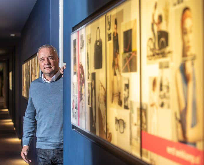 """CEO Graham Harris van webwarenhuis Wehkamp in Zwolle. Vorig jaar trad hij aan met als opdracht de financiële positie van het bedrijf te verbeteren. ,,We liggen op koers."""""""