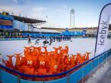 Huldiging sporters op 'olympisch ijs' van Amsterdam
