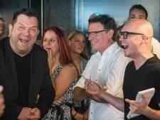 Komiek Philippe Geubels is voortaan fan van Bredase volkszanger Frank Verkooyen
