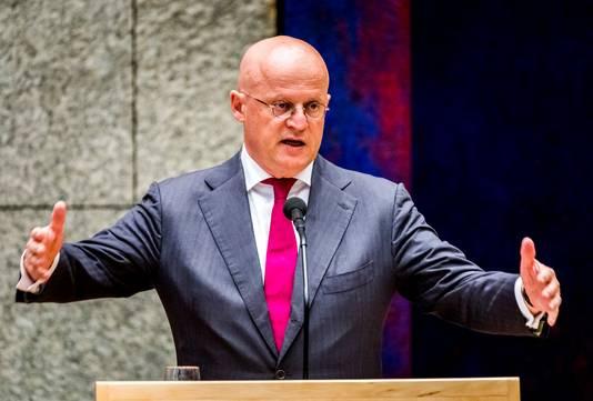 Minister Grapperhaus van Justitie en Veiligheid.