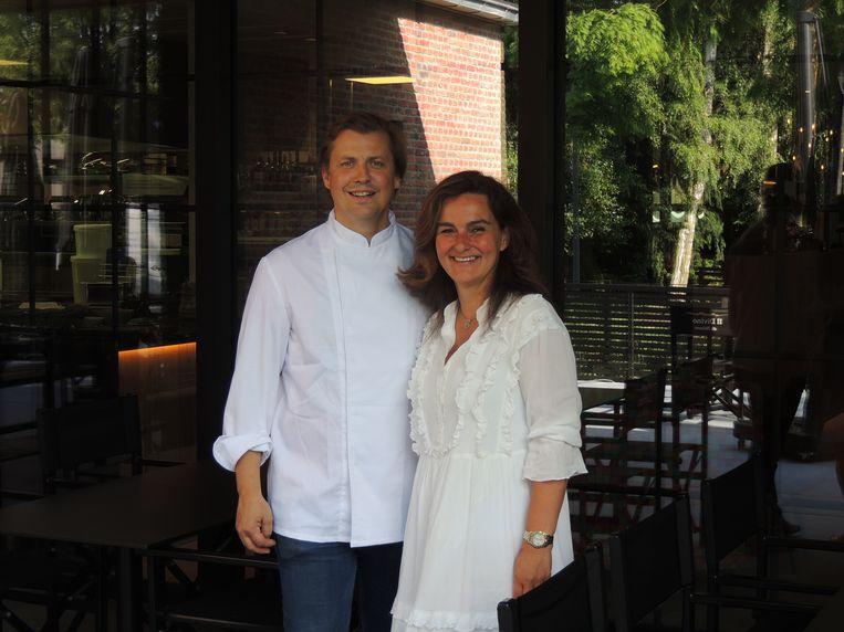 Sylvie Aernouts en Johan De Jaegher van Il Divino di Milano in Gooreind.