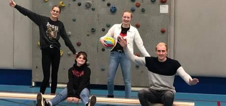 Nieuw team van jongeren brengt jeugd Dedemsvaart in beweging