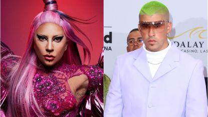 Lady Gaga stoot Bad Bunny van troon als grootste popster ter wereld