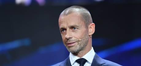 UEFA-baas Ceferin overtuigd dat EK doorgaat: 'Desnoods in minder speelsteden'