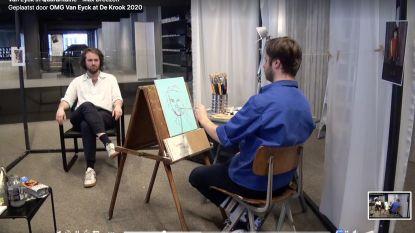 De Krook zet Van Eyck expo verder met 'quarantaine portretten'