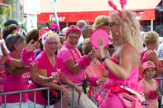 Roze Woensdag op het Faberplein.