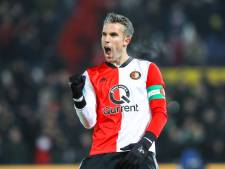 Van Persie weer goud waard voor Feyenoord