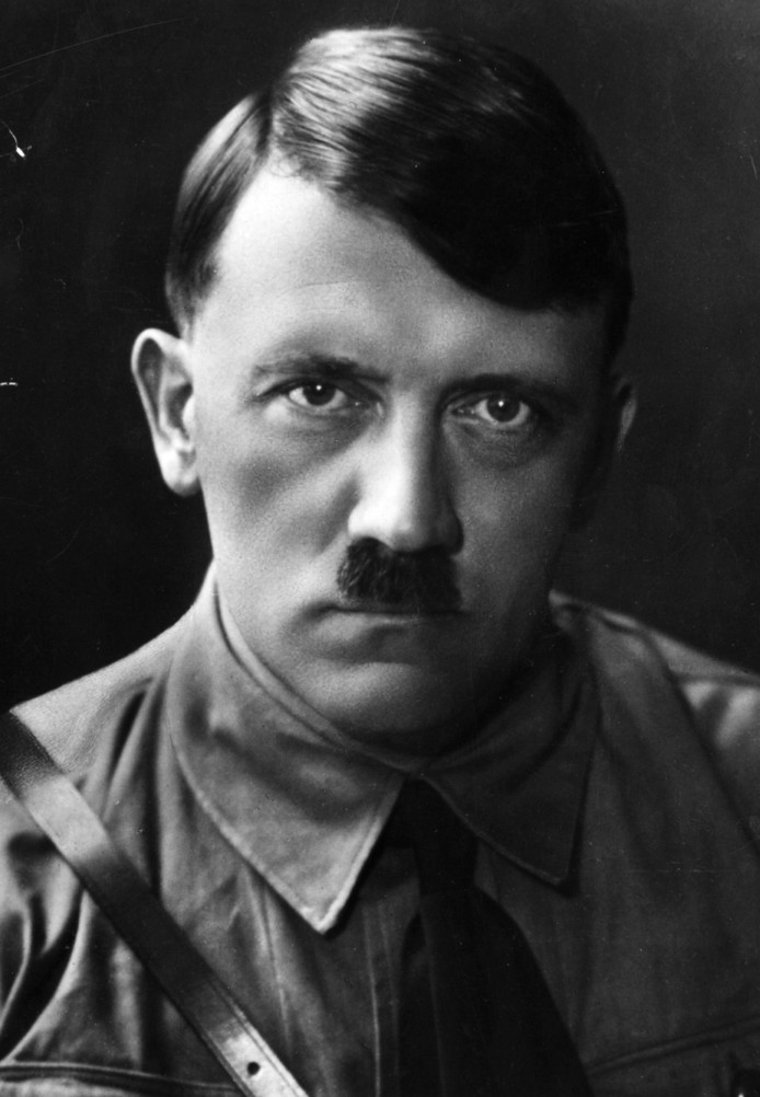 Adolf Hitler (1889 - 1945).