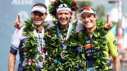 Aernouts negende na ferme inhaalrace, Frodeno wint met nieuw parcoursrecord voor de derde keer in Hawaï