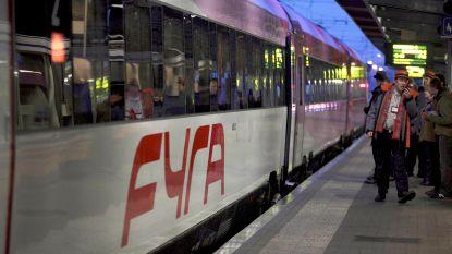 De Fyra-treinen gaan weer rijden