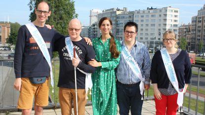 Niels, Christophe, Jamie en Stephie zijn voortaan bijzondere ambassadeurs van Oostende