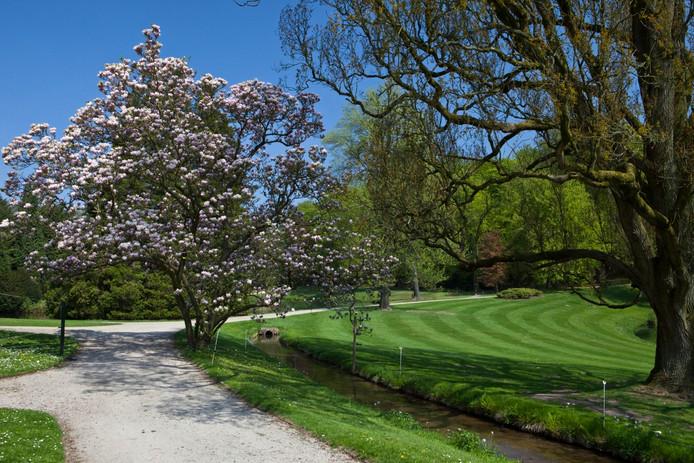 Het park bij Kasteel Rosendael