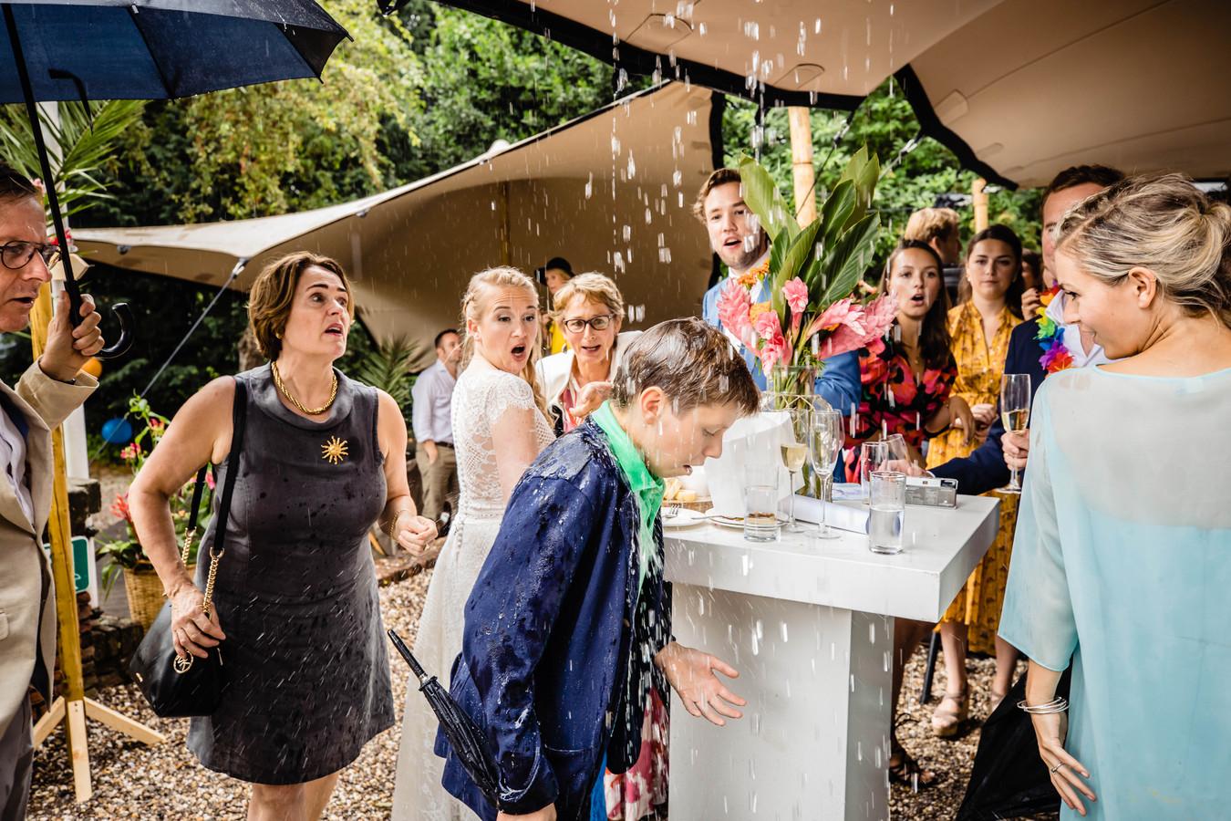 De genomineerde foto in de categorie 'bruidskinderen'.