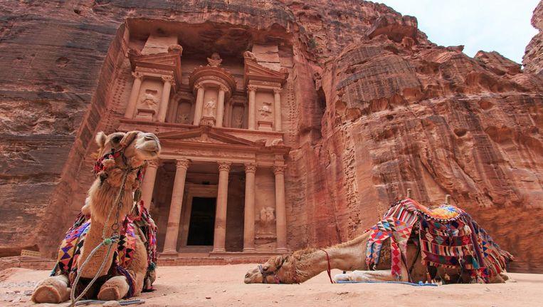 Ook in de top honderd: Petra in Jordanië.