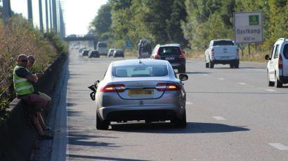 Autodief nog steeds in levensgevaar na aanrijding op E40