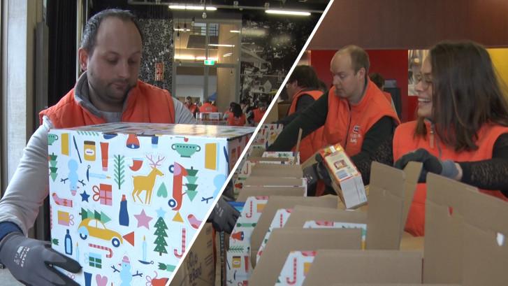 Daarom helpt Danny Blind mee met het inpakken van kerstpakketten