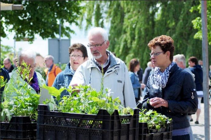 Bezoekers van de Brabantse Wal Dag