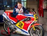 Needse replica van racemotor Jack Middelburg vandaag naar TT-terrein in Assen