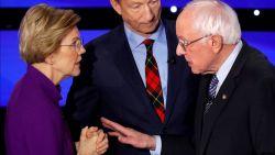 """Discussie Warren en Sanders mét geluid vrijgegeven: """"Je noemt me een leugenaar op nationale televisie"""""""