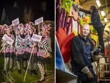 Deze optochtartiesten maken zich op voor het kleurrijke spektakel in de Boeskoolstad