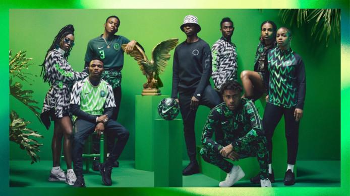 De nieuwe Nike-collectie van Nigeria.