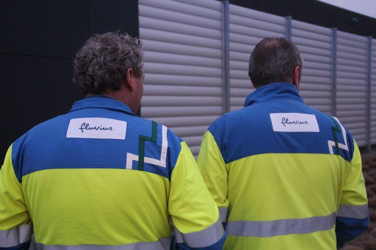 Ondersteunend beeld: werknemers van Fluvius.