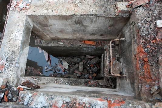 De bunker had ook een nooduitgang.