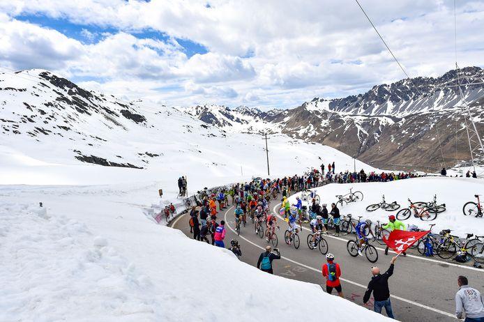 De Stelvio tijdens de Giro in 2017.