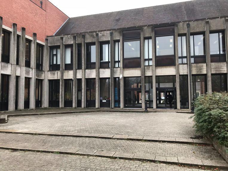 Het gerechtsgebouw in Brugge.