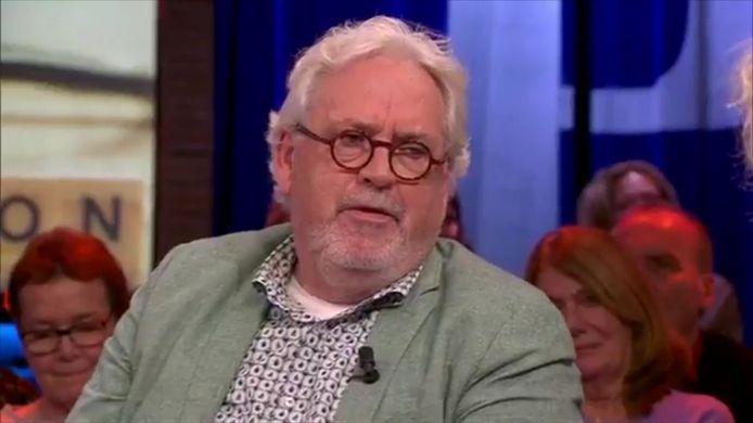 Ernst Daniel Smid november vorig jaar in het tv-programma Pauw. Tijdens de uitzending maakte hij bekend de ziekte van Parkinson te hebben.