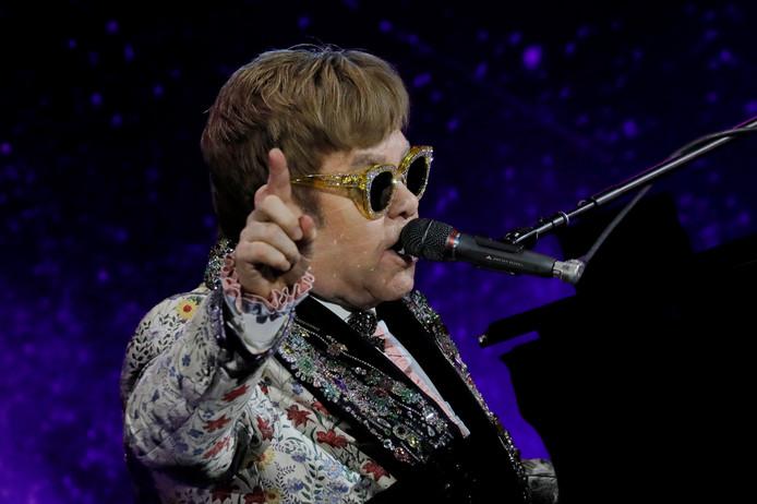 De Britse zanger Elton John