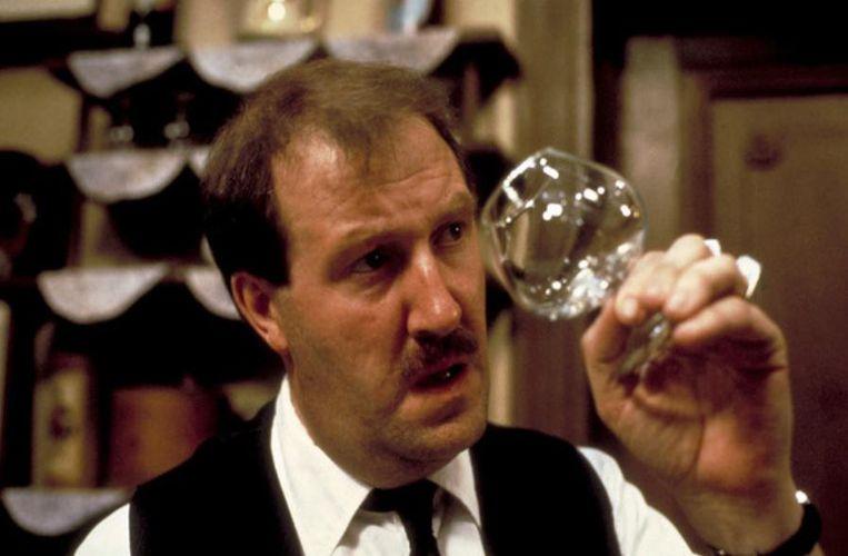 Gordon Kaye als 'Allo Allo'-hoofdpersonage René Artois.