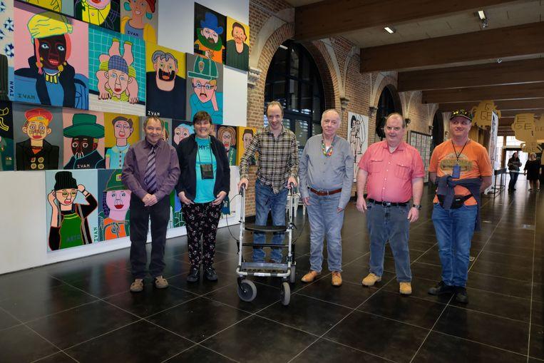 De kunstenaars van Studio Borgerstein stellen tot en met 16 mei tentoon in Cultuurcentrum Mechelen.