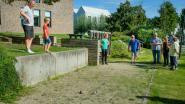 Kleinkinderen sporten samen met oma en opa op Sportelspeelpleindag