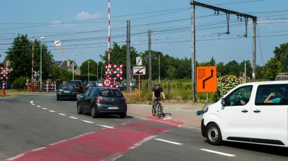 Verkeerssituatie aan 'den Halt' wordt veiliger voor fietsers
