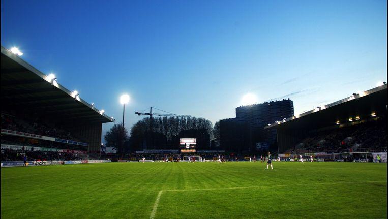 Het Edmond Machtensstadion in Molenbeek.
