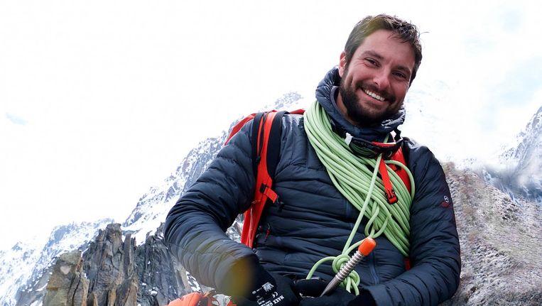 Christaan Wilson is vorig jaar spoorloos verdwenen in de Himalaya Beeld BNN