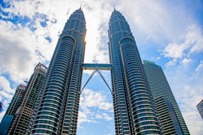De Petronas Twin Towers in Maleisië